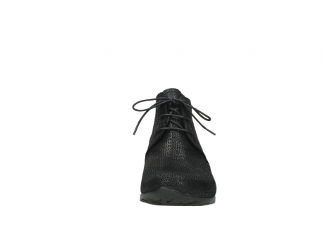 wolky ankle boots 07821 zircon 71000 black leather_19