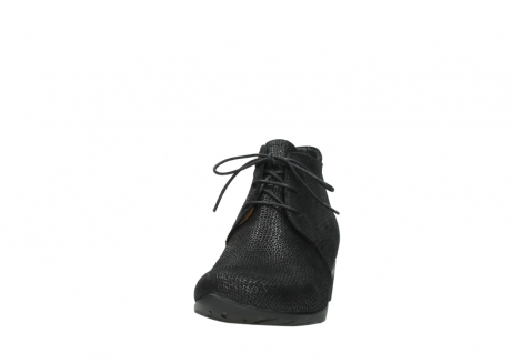 wolky ankle boots 07821 zircon 71000 black leather_20