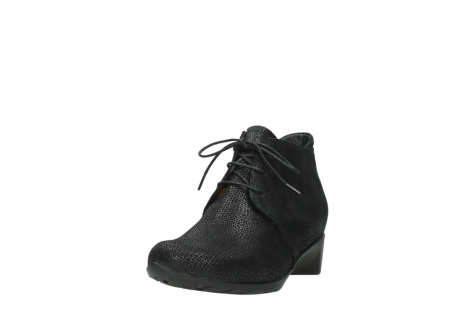 wolky ankle boots 07821 zircon 71000 black leather_21