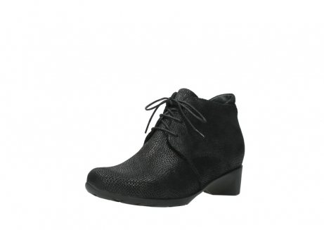 wolky ankle boots 07821 zircon 71000 black leather_22