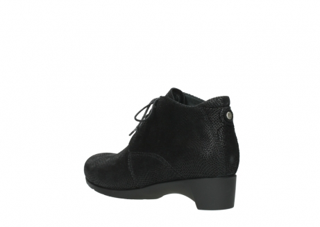wolky ankle boots 07821 zircon 71000 black leather_4