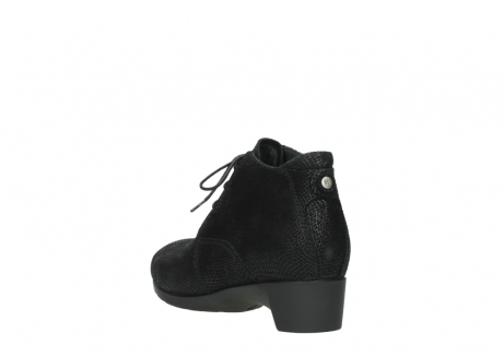wolky ankle boots 07821 zircon 71000 black leather_5