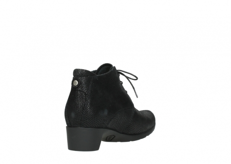 wolky ankle boots 07821 zircon 71000 black leather_9