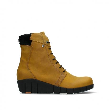wolky ankle boots 01775 portland 10924 dark ochre nubuck