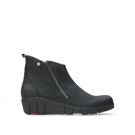 wolky ankle boots 01777 phoenix 10000 black nubuck