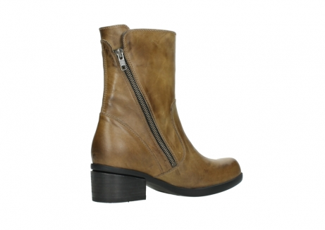wolky mid calf boots 01376 rialto 30920 ocher yellow leather_11