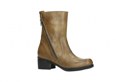 wolky mid calf boots 01376 rialto 30920 ocher yellow leather_15