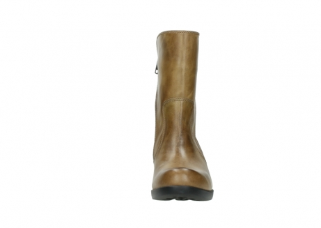 wolky mid calf boots 01376 rialto 30920 ocher yellow leather_19