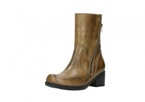 wolky mid calf boots 01376 rialto 30920 ocher yellow leather_22