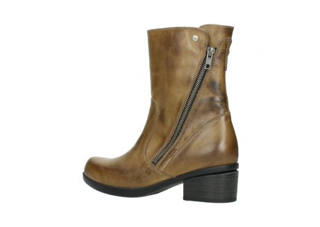 wolky mid calf boots 01376 rialto 30920 ocher yellow leather_3