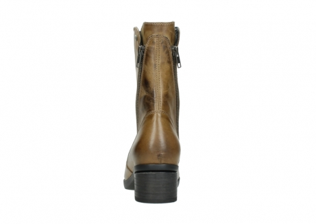 wolky mid calf boots 01376 rialto 30920 ocher yellow leather_7