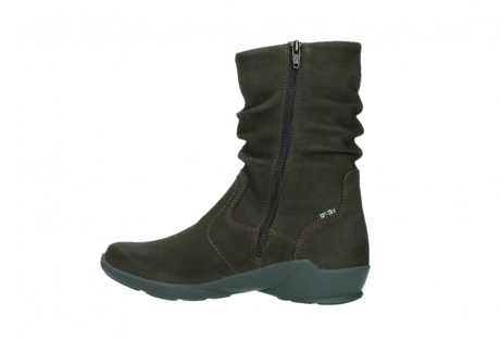 wolky mid calf boots 01573 luna wp 11302 brown nubuck water proof warm lining_14