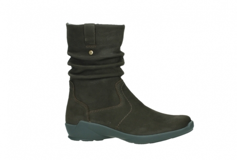 wolky mid calf boots 01573 luna wp 11302 brown nubuck water proof warm lining_2