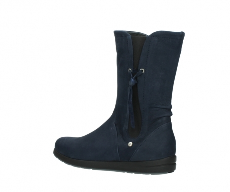 wolky mid calf boots 02425 newton wp 13800 blue nubuckleather_3