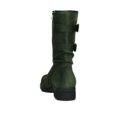 wolky mid calf boots 02626 willis 45730 forestgreen suede_18