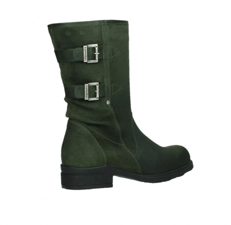 wolky mid calf boots 02626 willis 45730 forestgreen suede_23
