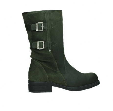 wolky mid calf boots 02626 willis 45730 forestgreen suede_24