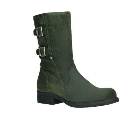 wolky mid calf boots 02626 willis 45730 forestgreen suede_3