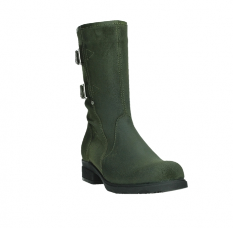 wolky mid calf boots 02626 willis 45730 forestgreen suede_5