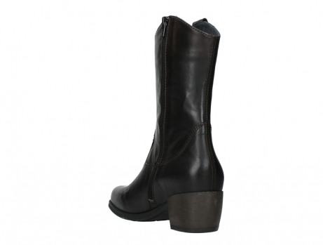 wolky mid calf boots 02876 caprock 30305 brown leather_17