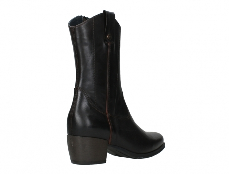 wolky mid calf boots 02876 caprock 30305 brown leather_22
