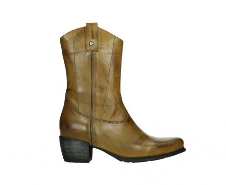 wolky mid calf boots 02876 caprock 30925 dark ocher leather_1