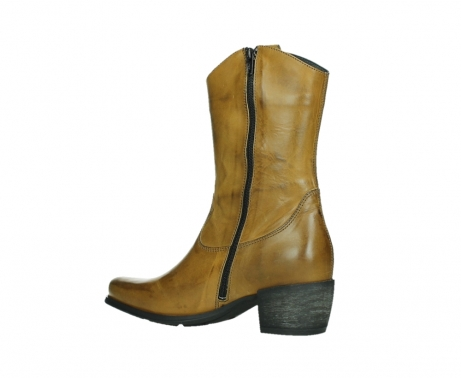 wolky mid calf boots 02876 caprock 30925 dark ocher leather_15