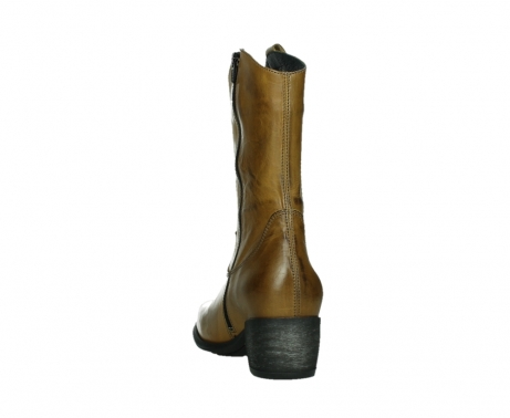 wolky mid calf boots 02876 caprock 30925 dark ocher leather_18