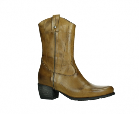 wolky mid calf boots 02876 caprock 30925 dark ocher leather_2