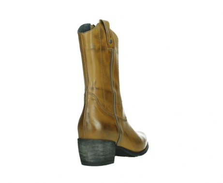 wolky mid calf boots 02876 caprock 30925 dark ocher leather_21