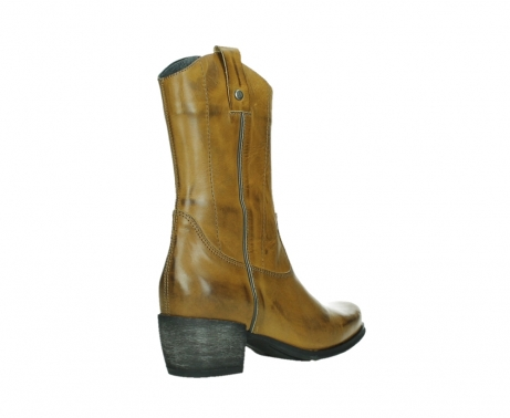 wolky mid calf boots 02876 caprock 30925 dark ocher leather_22
