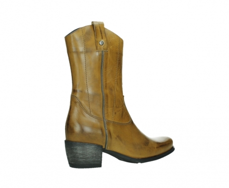 wolky mid calf boots 02876 caprock 30925 dark ocher leather_23