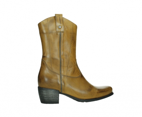 wolky mid calf boots 02876 caprock 30925 dark ocher leather_24