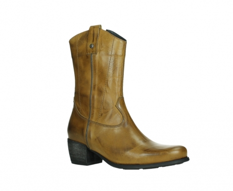 wolky mid calf boots 02876 caprock 30925 dark ocher leather_3