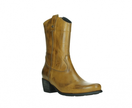 wolky mid calf boots 02876 caprock 30925 dark ocher leather_4