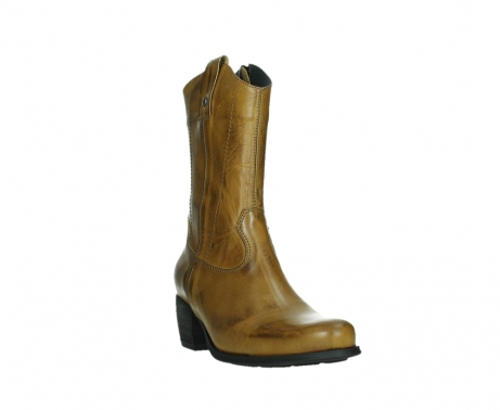 wolky mid calf boots 02876 caprock 30925 dark ocher leather_5