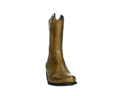wolky mid calf boots 02876 caprock 30925 dark ocher leather_6