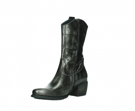 wolky mid calf boots 02876 caprock 63210 anthracite shiny leather_10