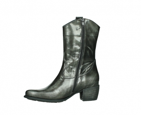 wolky mid calf boots 02876 caprock 63210 anthracite shiny leather_12