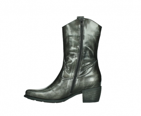 wolky mid calf boots 02876 caprock 63210 anthracite shiny leather_13