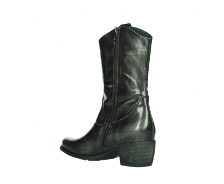 wolky mid calf boots 02876 caprock 63210 anthracite shiny leather_16