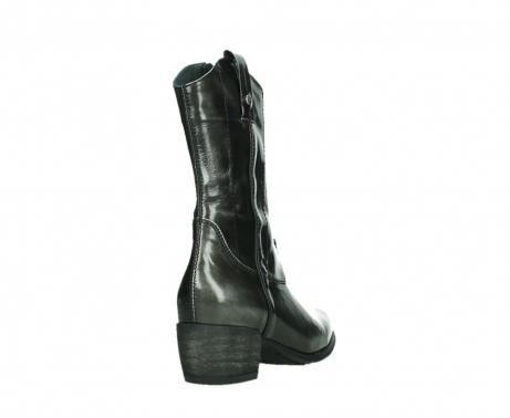 wolky mid calf boots 02876 caprock 63210 anthracite shiny leather_21