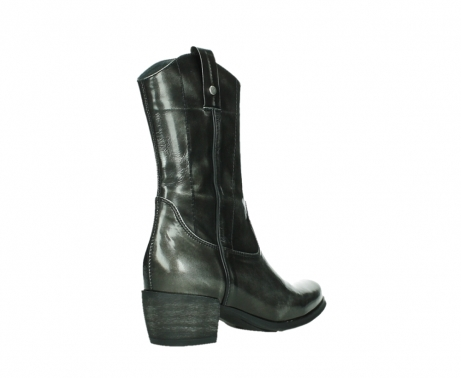 wolky mid calf boots 02876 caprock 63210 anthracite shiny leather_22