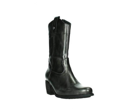 wolky mid calf boots 02876 caprock 63210 anthracite shiny leather_5