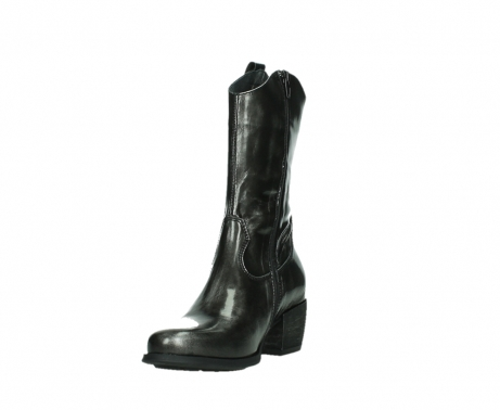 wolky mid calf boots 02876 caprock 63210 anthracite shiny leather_9