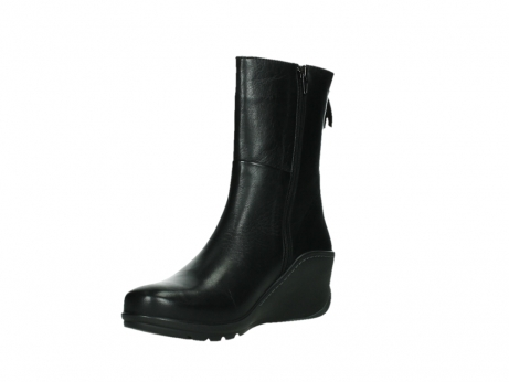 wolky mid calf boots 03876 newtok 30000 black leather_10