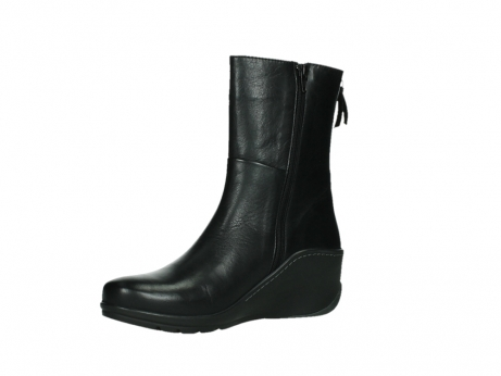 wolky mid calf boots 03876 newtok 30000 black leather_11