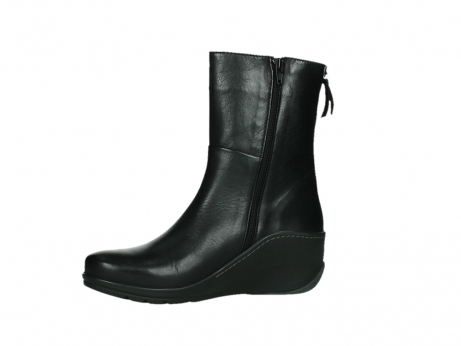 wolky mid calf boots 03876 newtok 30000 black leather_12