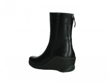 wolky mid calf boots 03876 newtok 30000 black leather_16