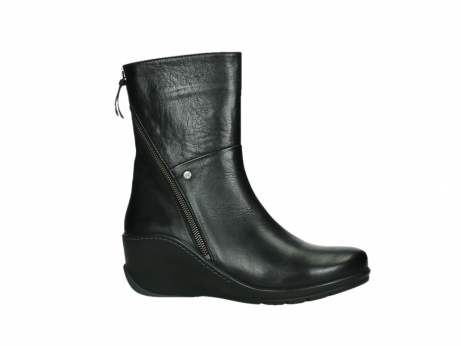 wolky mid calf boots 03876 newtok 30000 black leather_2